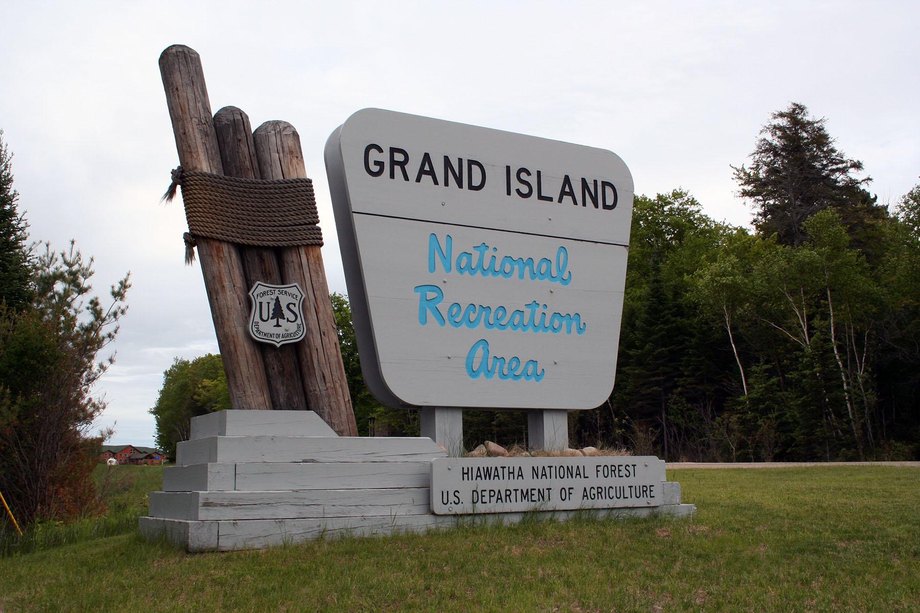 Hiawatha National Forest Grand Island National Recreation Area
